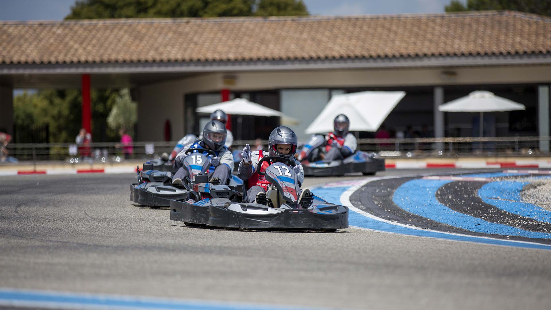 challenge karting course