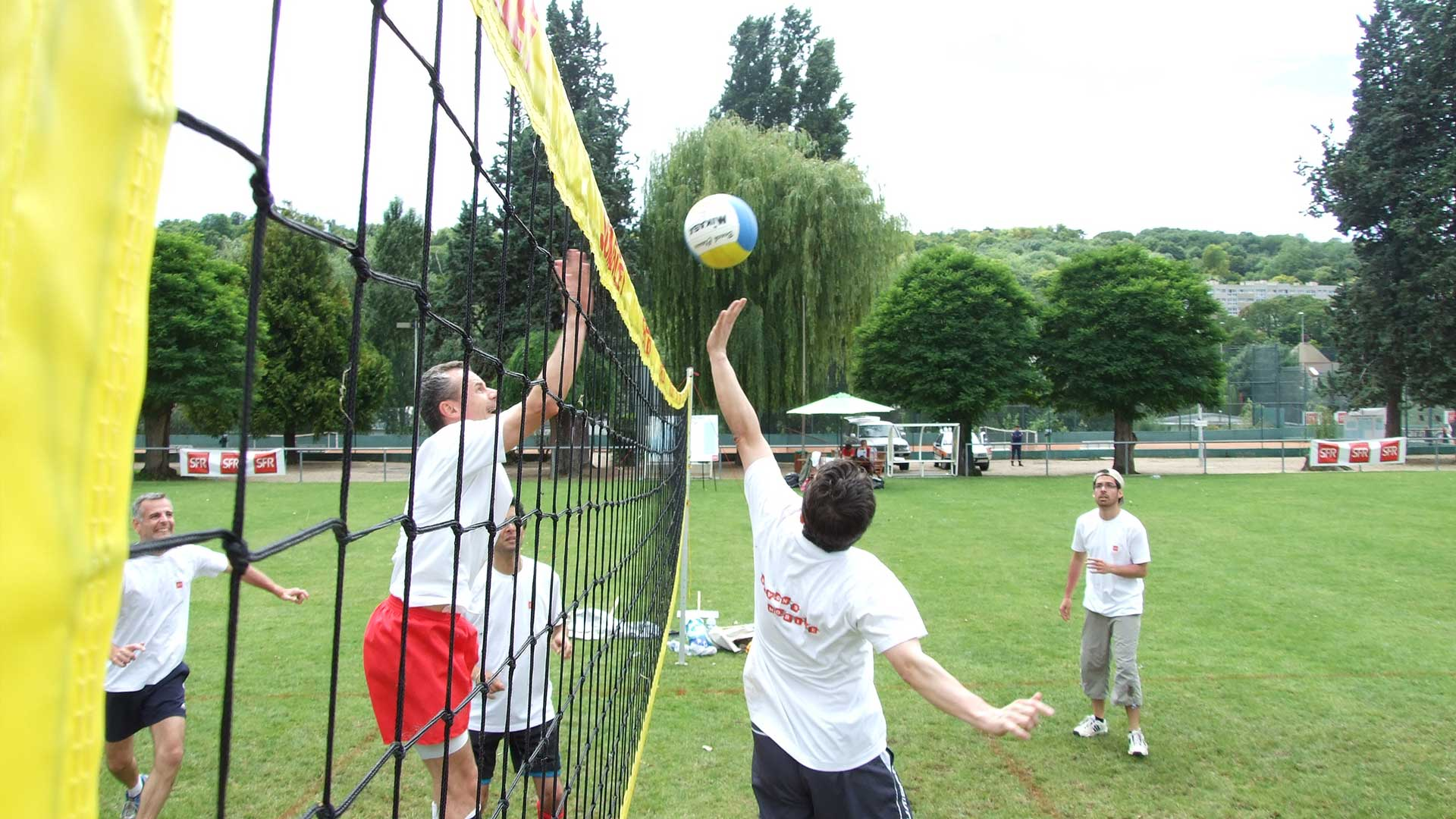 Challenge multi-sports entreprise volley-ball
