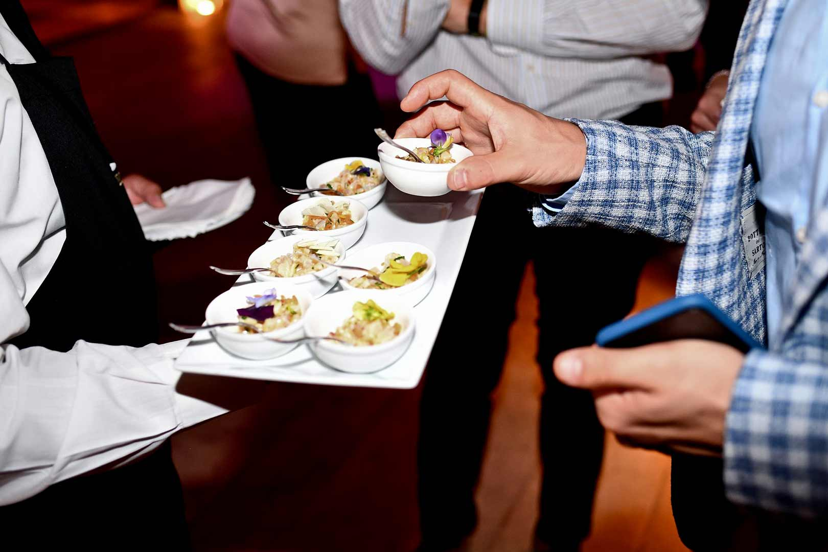 cocktail dînatoire traiteur événementiel