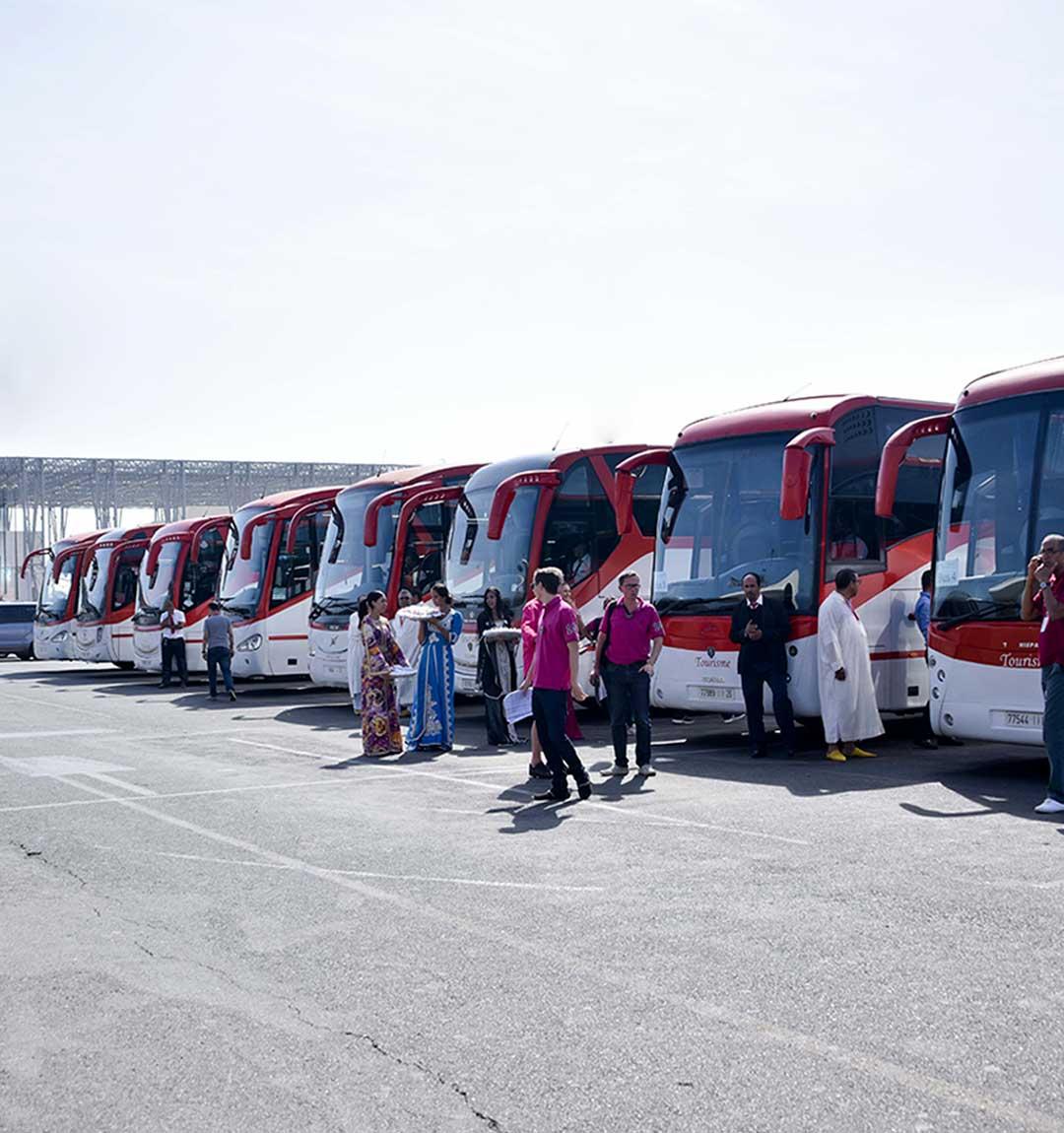 Organisation d'un séminaire au maroc logistique transferts